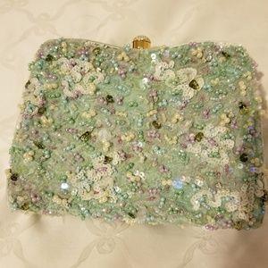 Judith Leiber sequin/beaded purse